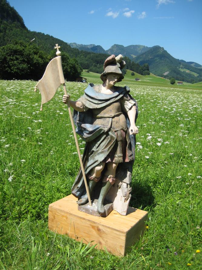 Holzschnitzer- Restaurierung -Hl. Florian